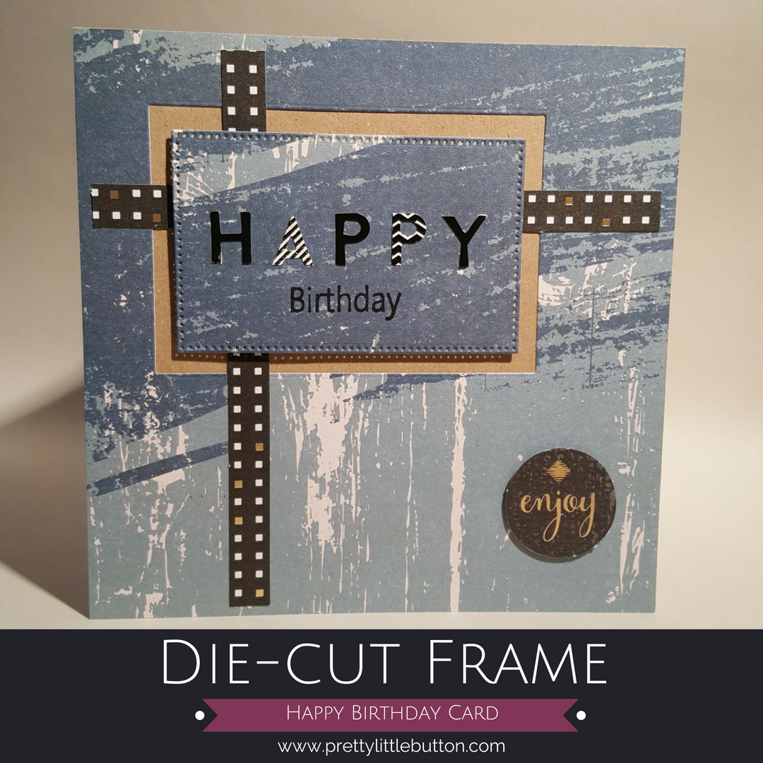 Die-cut Frame – Happy Birthday