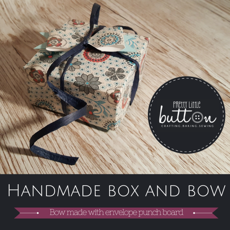 Tutorial: Handmade box and matching bow