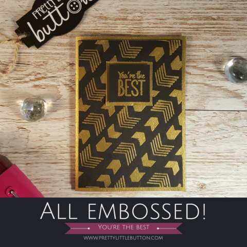 All Embossed – You're the best!