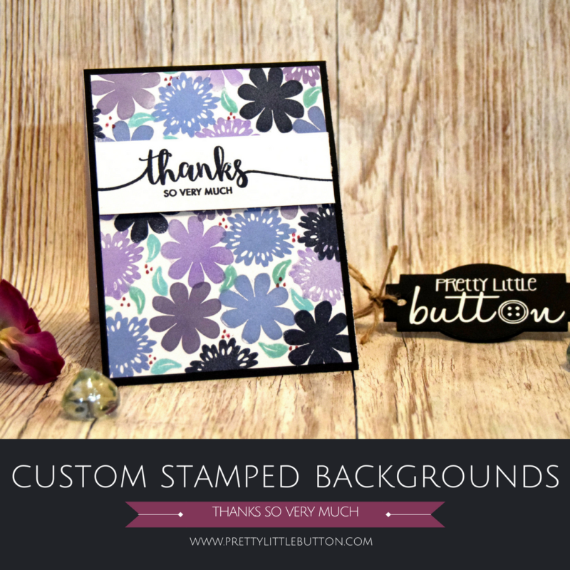 Custom Stamped Backgrounds