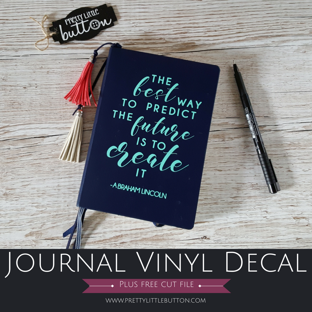 Journal Vinyl Decal
