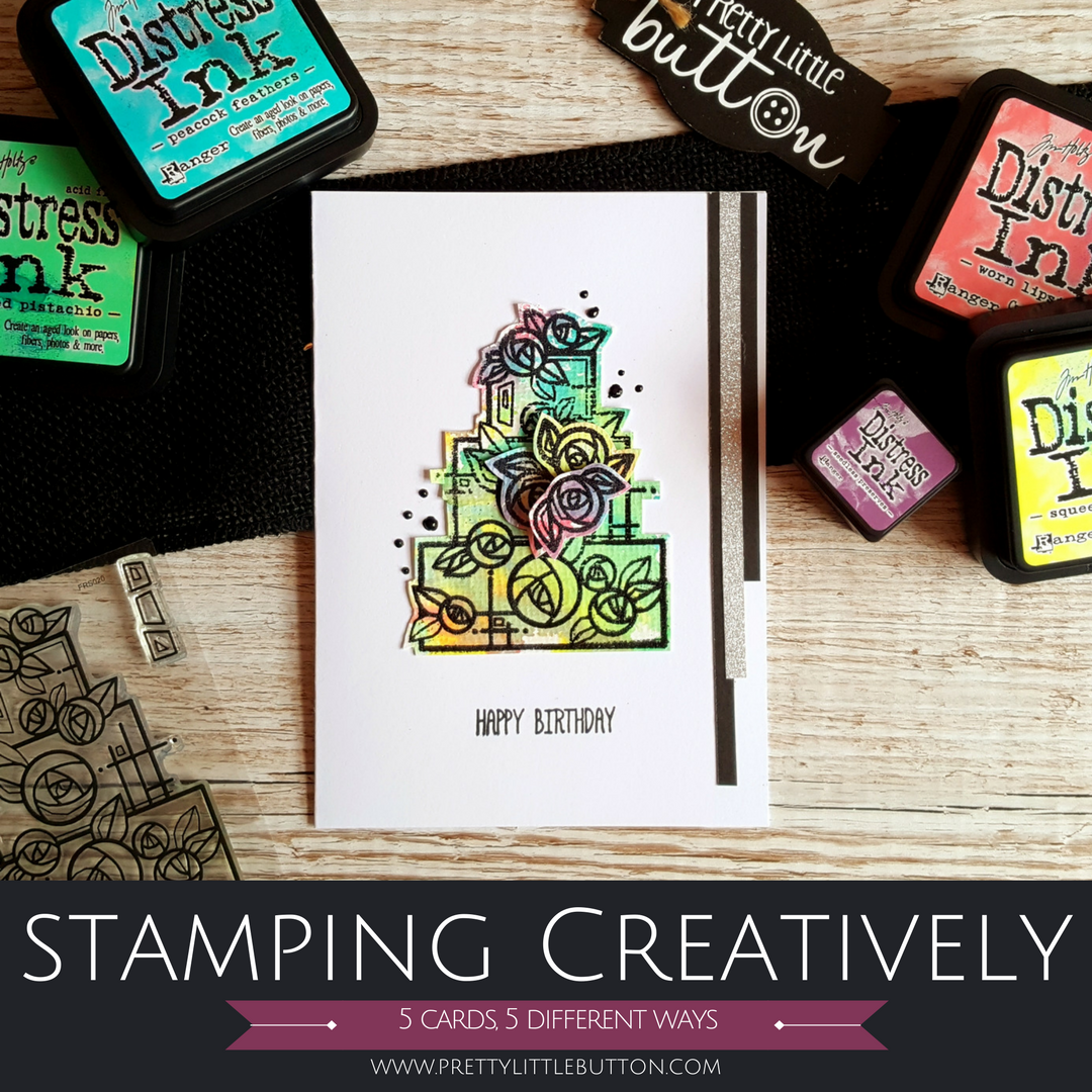 Stamping creatively: 5 cards, 5 ways