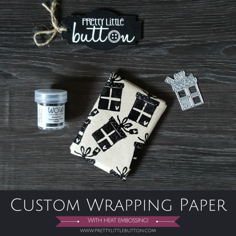 Custom Embossed Wrapping Paper