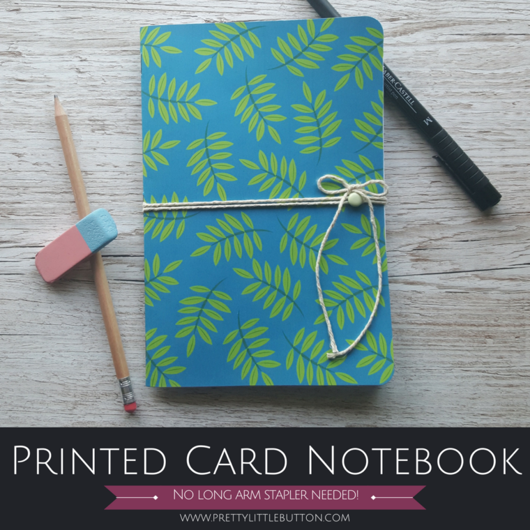 Printed Card Notebook – docrafts PDT Project