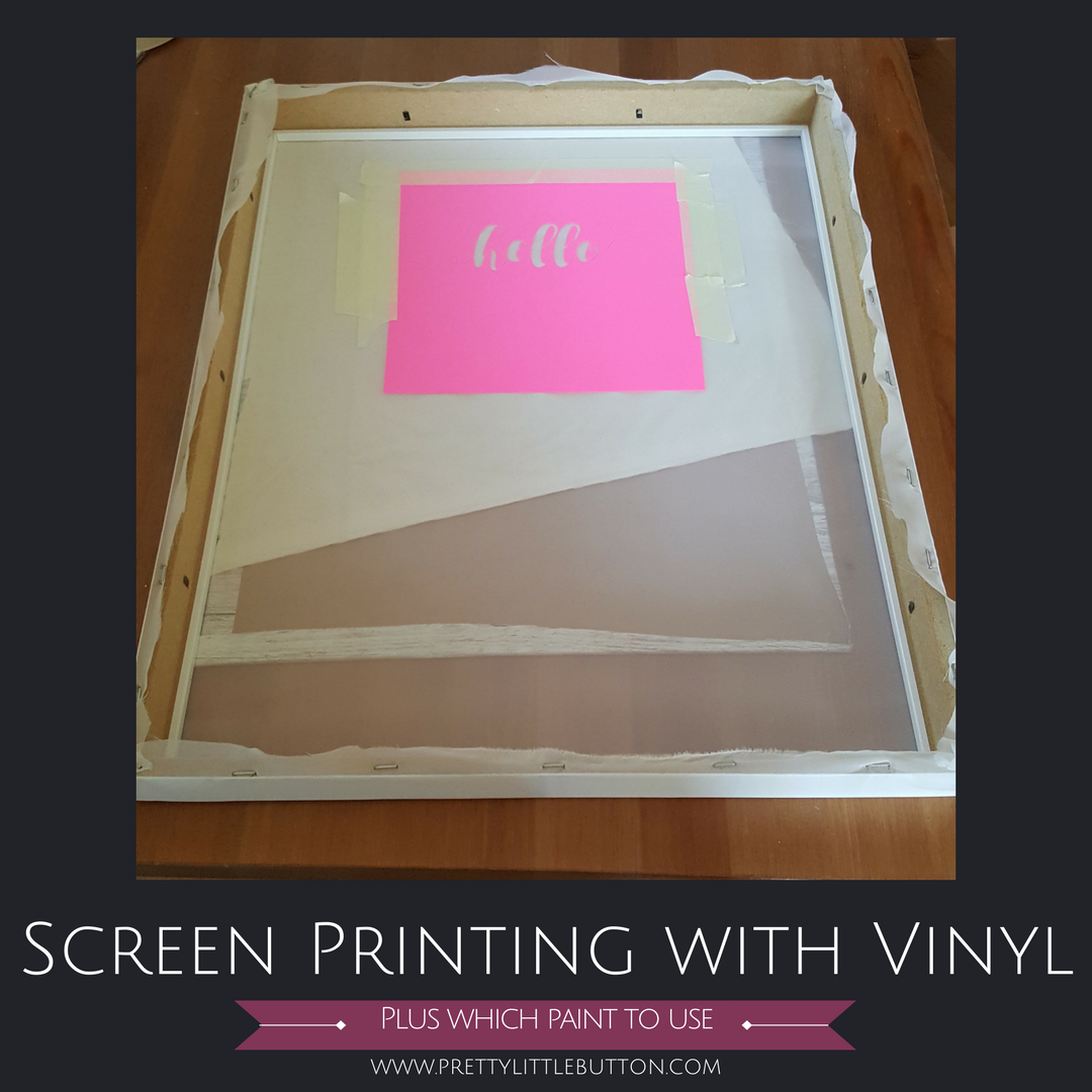 Silk Screen Printing: Part 2