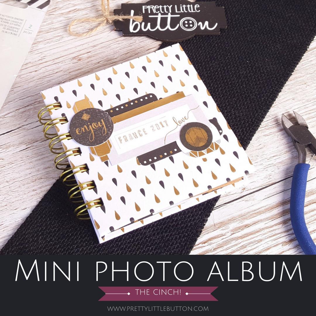 Mini Photo Album – The Cinch