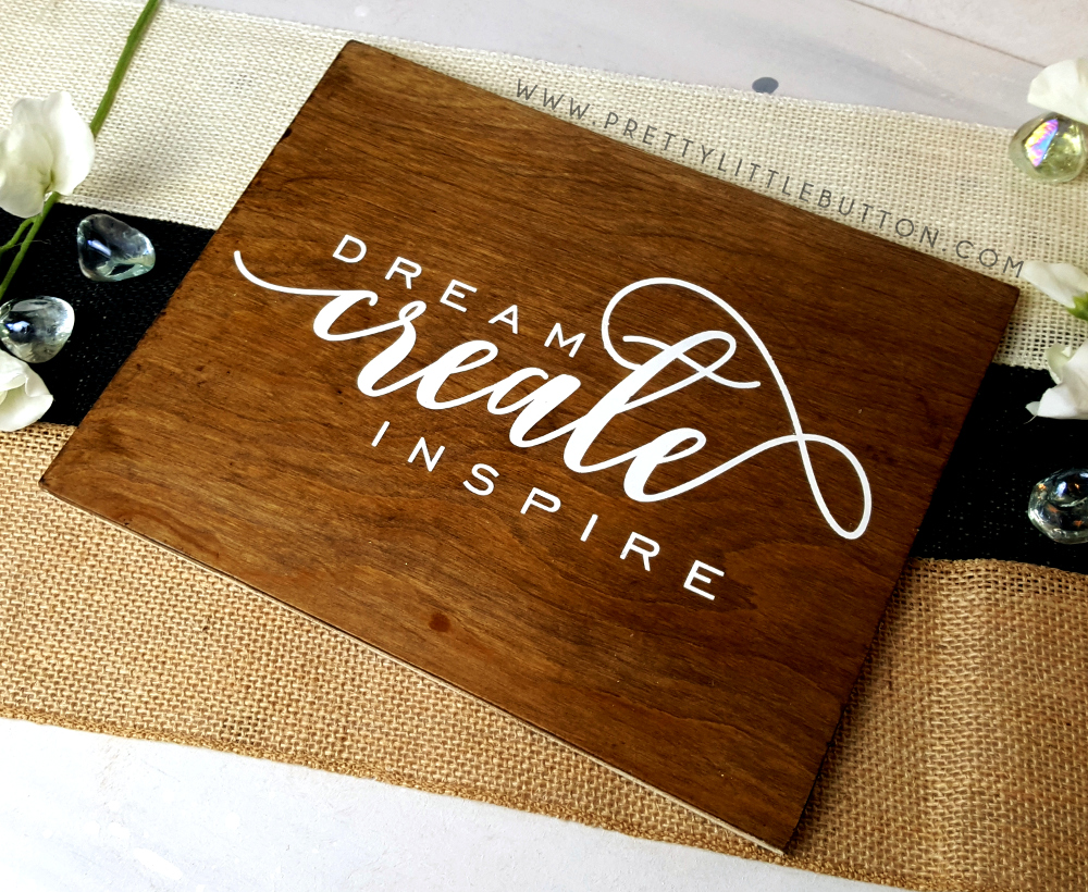 Custom Painted Wood Sign With Your Silhouette Pretty
