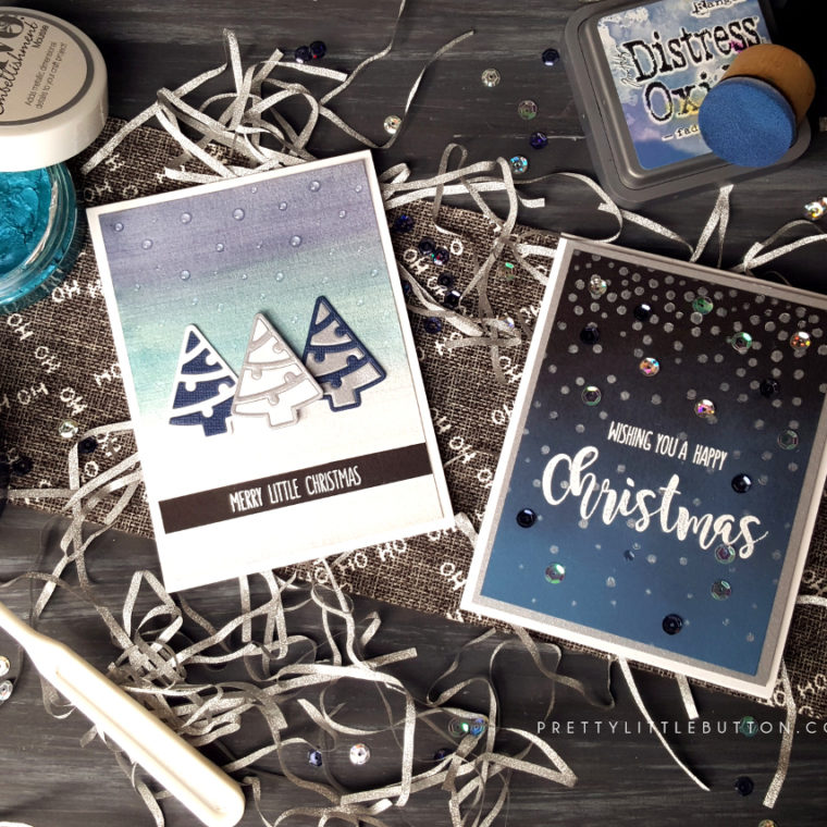 Modern Christmas cards – Tonic Nuvo Mousse