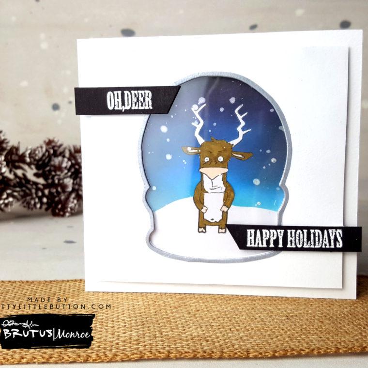 Brutus Monroe: Oh, Deer Masculine card