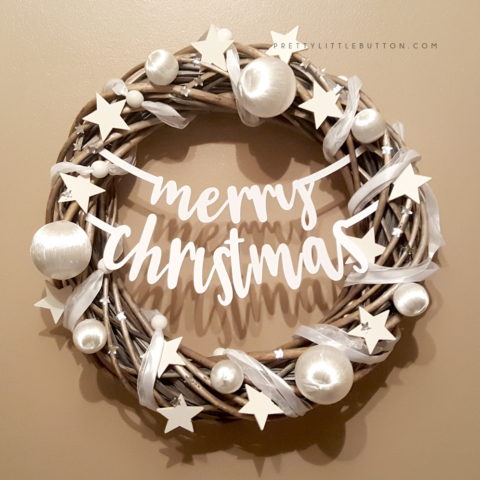 Christmas Wreath – Silhouette Studio Knife Tool