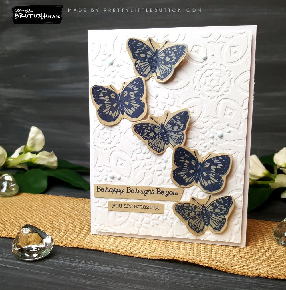Brutus Monroe: A Kaleidoscope of butterflies