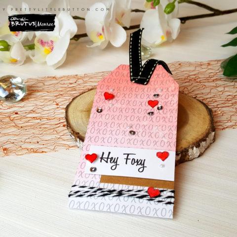 Brutus Monroe: 'Hey Foxy' Gift Tag