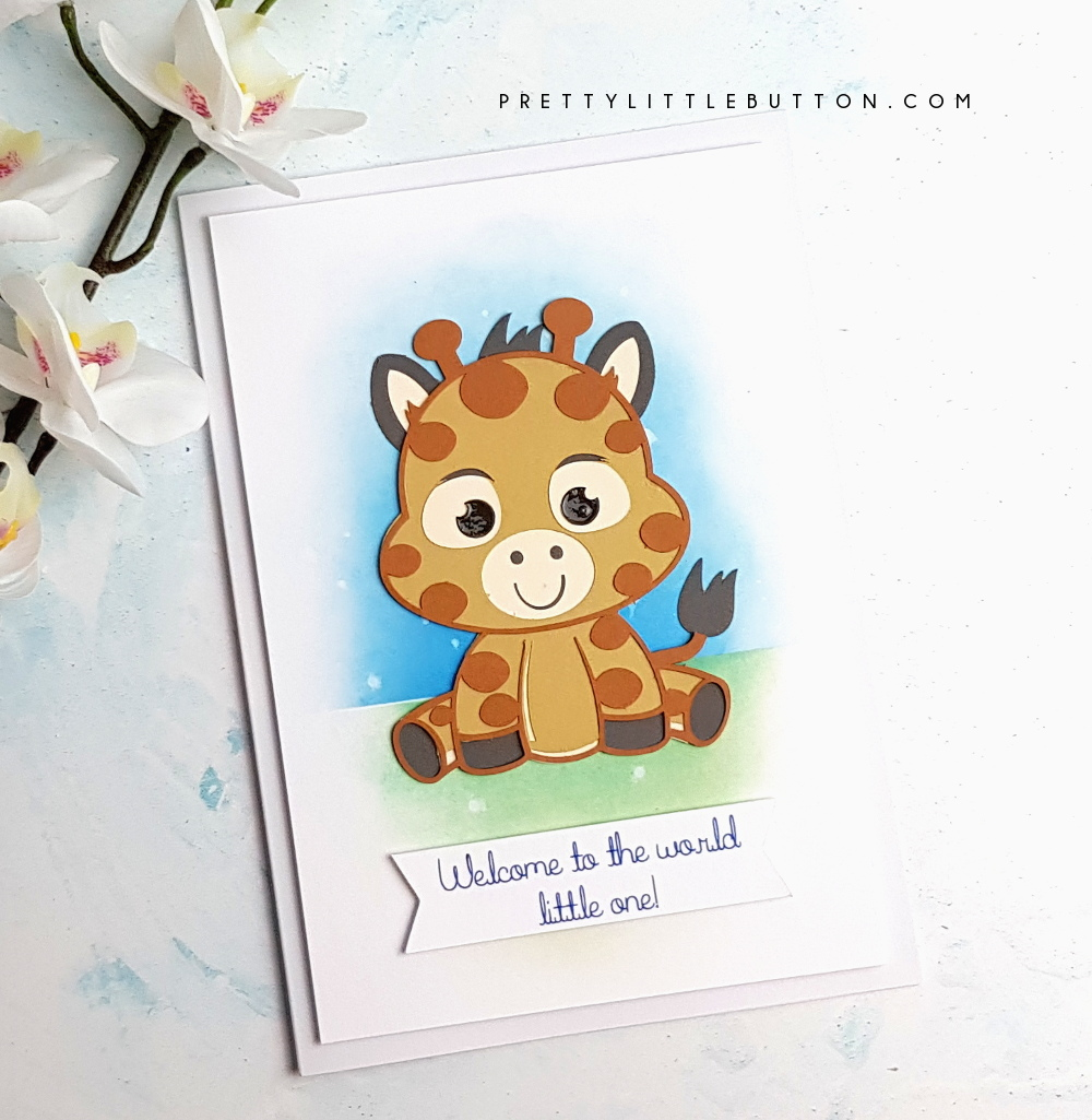 Silhouette UK  Baby animal cut file card - Pretty Little Button 66489bb0d1