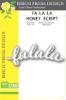 Falala Honey Script - Birch Press Designs