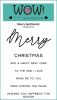 Merry Sentiments - WOW! (Inspired by Verity Biddlecombe)