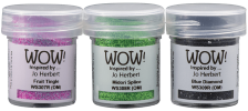 Cocktail Party Trio - WOW! Embossing powder